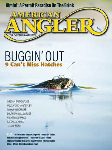"Cover of ""American Angler 2020 March-April Edition """