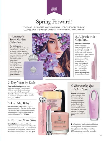 Page 105 of COSMETICS Makeup for spring
