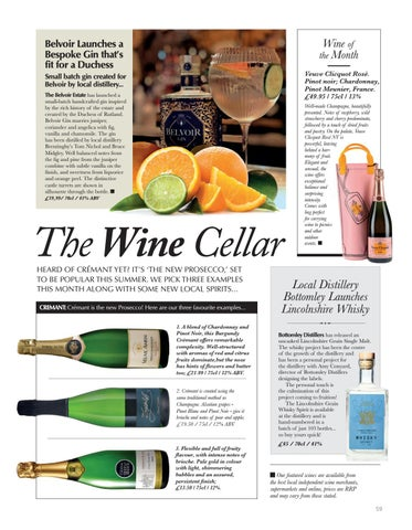 Page 59 of WINE Delicious spring tipples