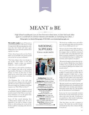 Page 89 of WEDDINGS Celebrating Tom