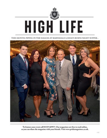 Page 115 of HIGH LIFE Raising money