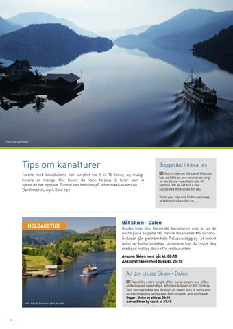 Page 16 of Kanaltips Itineraries