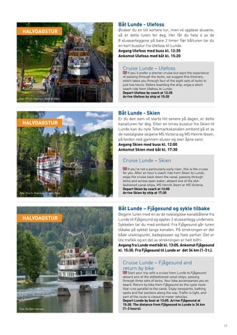 Page 17 of Kanaltips Itineraries