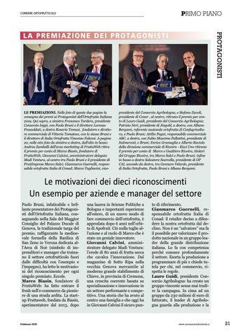Page 23 of Le motivazioni dei dieci riconoscimenti L'assemblea di Genova vota Gianmarco Guernelli di Conad