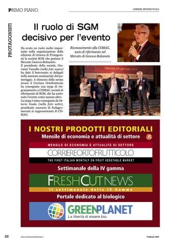 Page 30 of Il ruolo di SGM decisivo per l'evento