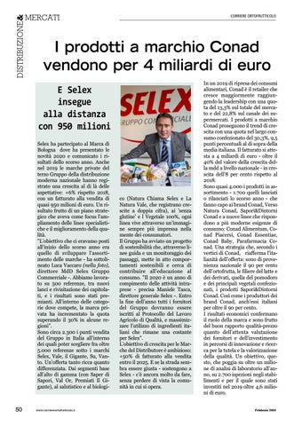 Page 52 of I prodotti a marchio Conad vendono per 4 miliardi di euro