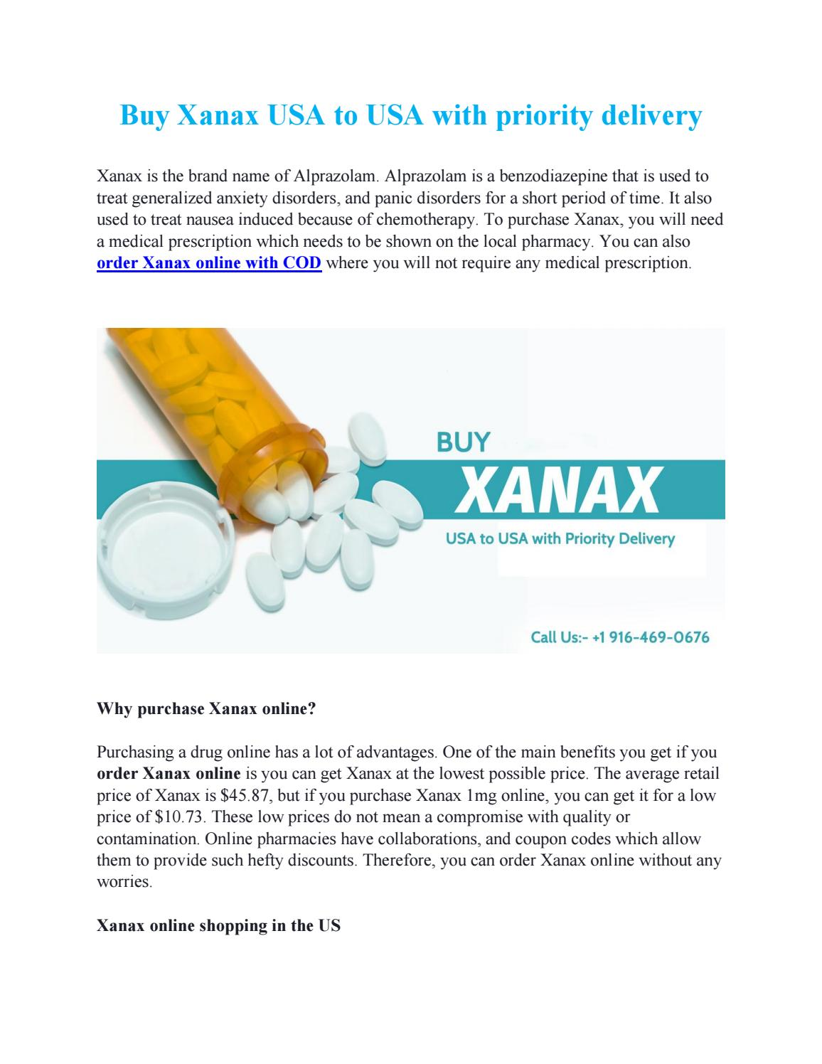 Order Xanax Online Cash On Delivery