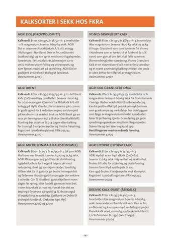 Page 16 of Kalksorter i sekk hos FKRA