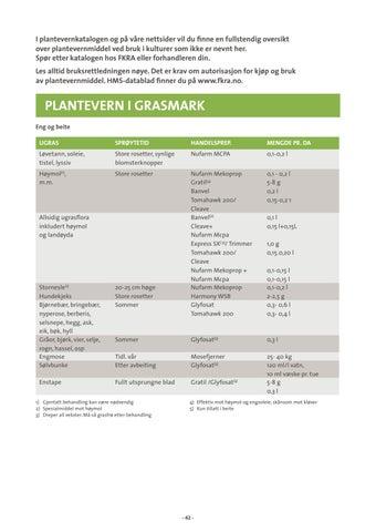 Page 42 of Plantevern i grasmark