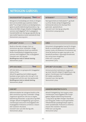 Page 8 of Nitrogen gjødsel
