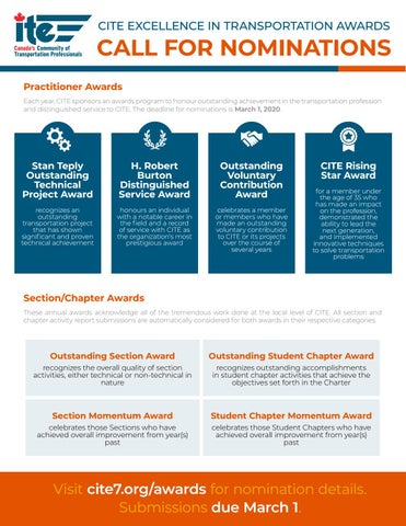 Page 10 of CITE 2020 Excellence in Transportation Awards