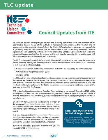 Page 14 of TLC: ITE Council Updates
