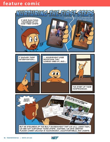 Page 18 of Nurturing the First Steps: A Walkability Comic