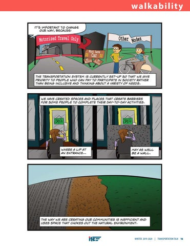 Page 19 of Nurturing the First Steps: A Walkability Comic