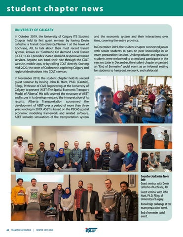 Page 48 of Student Chapter News