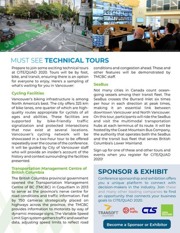 Page 9 of CITE/QUAD 2020 Vancouver - Update & Technical Tours Preview