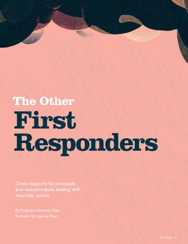 Page 15 of The Other First Responders: Crisis support for principals and vice-principals dealing with traumatic events