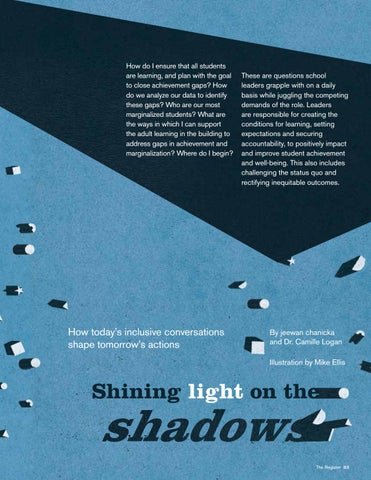 Page 23 of Shining Light On The Shadows: How today's inclusive conversations shape tomorrow's actions