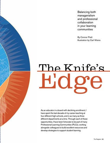 Page 35 of The Knife's Edge: Balancing both managerialism and professional collaboration in your learning communities