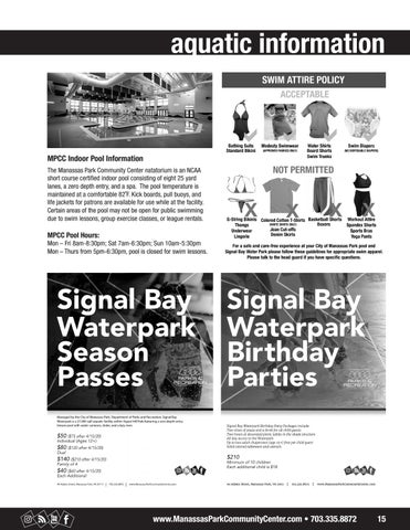 Page 15 of Aquatic Information