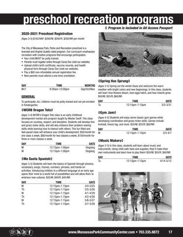 Page 17 of Preschool Programs