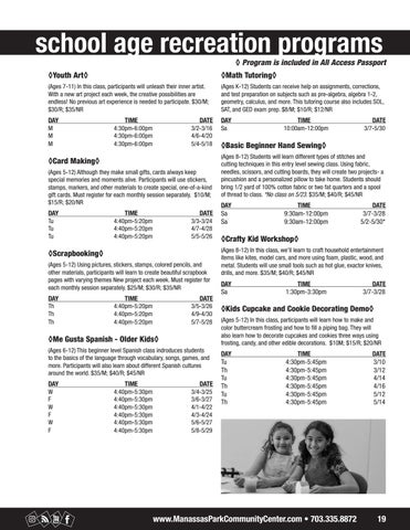 Page 19 of School Age Programs