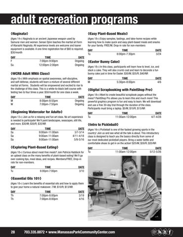 Page 28 of Adult Programs