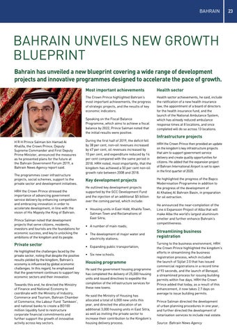 Page 23 of Bahrain Growth Blueprint