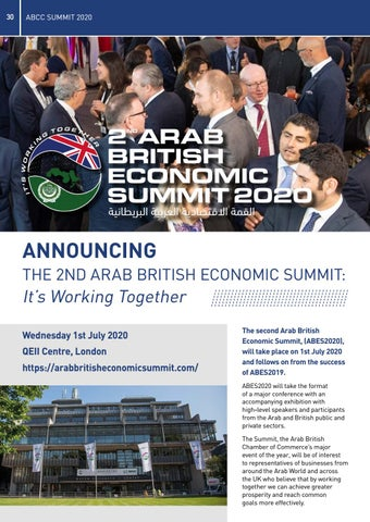 Page 30 of Arab British Economic Summit 2020