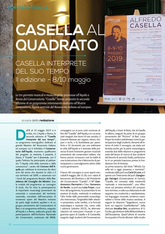 Page 12 of Casella al quadrato. Un convegno su Casella al Conservatorio Casella (a cura della redazione