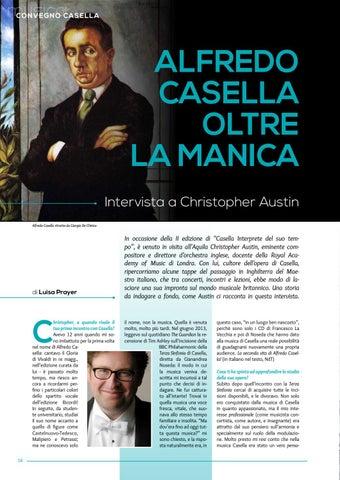 Page 16 of Alfredo Casella oltre la manica. Intervista a Chistopher Austin (L.Prayer