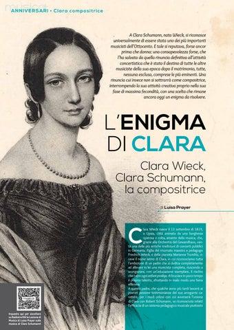 Page 26 of L'enigma di Clara. Clara Wieck, Clara Schumann, la compositrice (L.Prayer