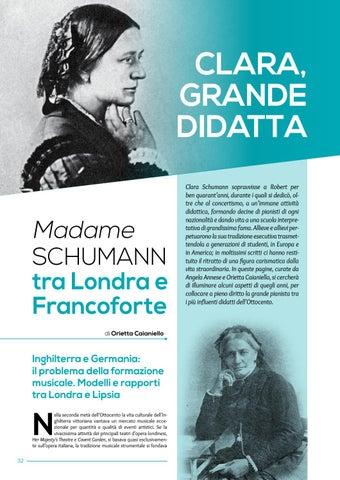 Page 34 of Clara grande didatta. Madame Schumann tra Londra e Francoforte (O.Caianiello