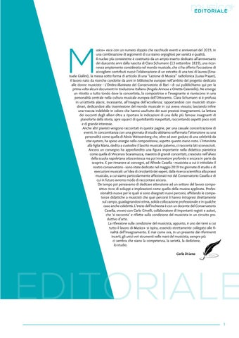 Page 3 of EDITORIALE