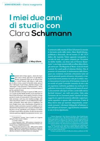 Page 54 of I miei due anni di studio con Clara Schumann