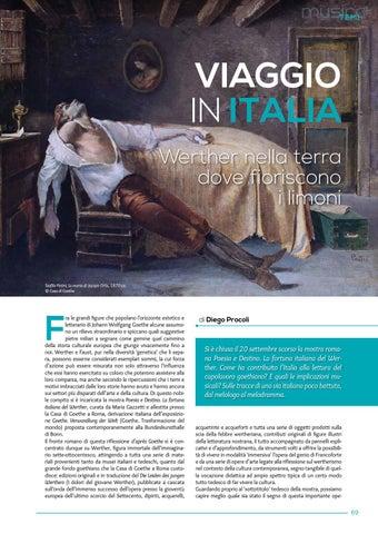 Page 71 of Viaggio in Italia. Werther nella terra dove fioriscono i limoni (D.Procoli