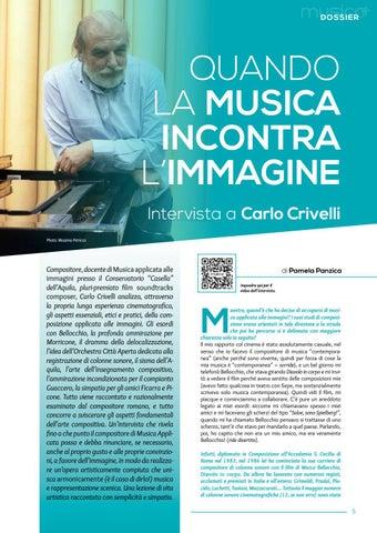 Page 7 of Quando la musica incontra l'immagine. Intervista a Carlo Crivelli (P.Panzica