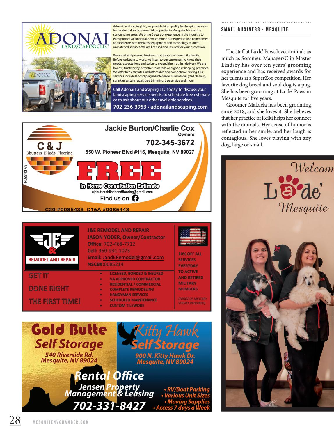 Mesquite Business And Visitor Guide By Chamber Marketing Partners Inc Issuu