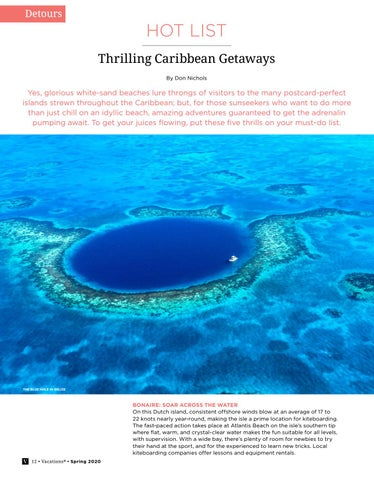 Page 12 of Hot List : Thrilling Caribbean Getaways