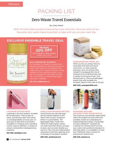 Page 16 of Zero-Waste Travel Essentials
