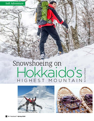 Page 38 of Snowshoeing on Hokkaido's Highest Mountain