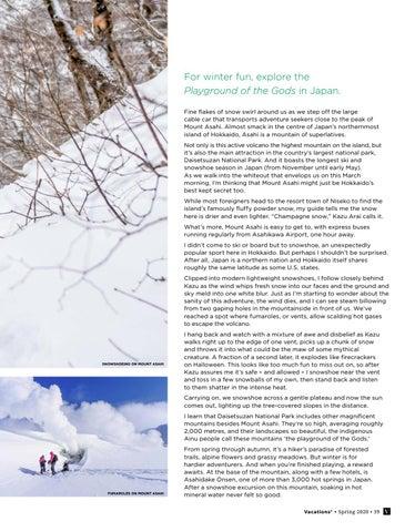 Page 39 of Snowshoeing on Hokkaido's Highest Mountain
