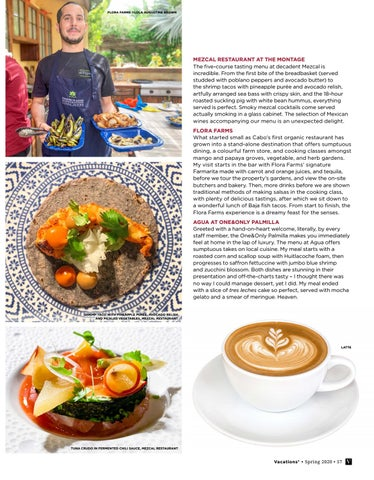 Page 57 of FIVE FABULOUS CULINARY EXPERIENCES IN LOS CABOS