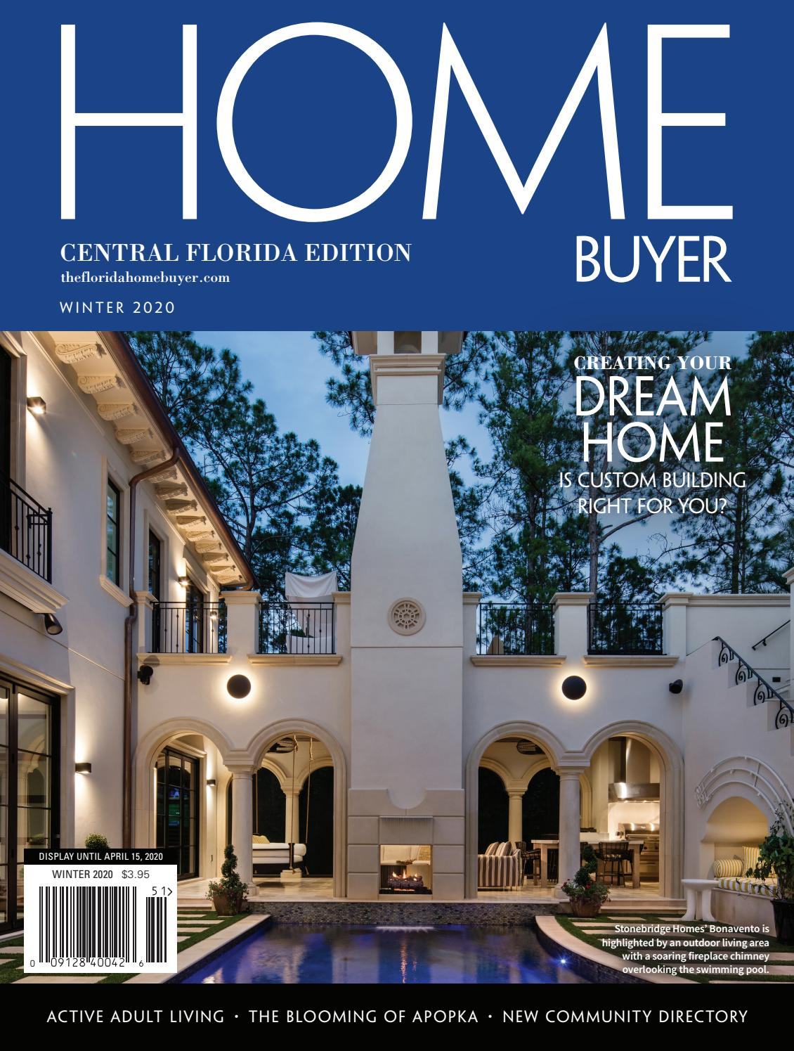 Homebuyer Central Florida Edition Winter 2020 By Winter Park