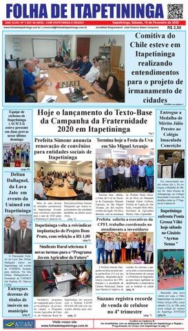 Folha de Itapetininga 15/02/2020 (Sabado)