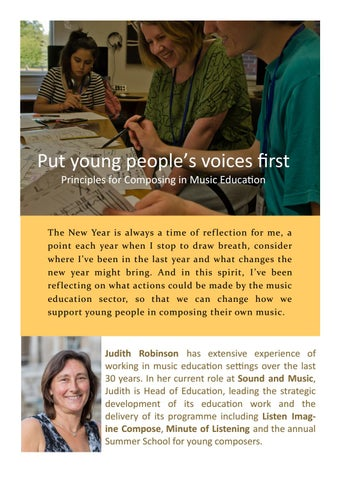 Page 14 of Put young people's voices first