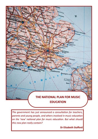 Page 4 of The National Plan for Music Education
