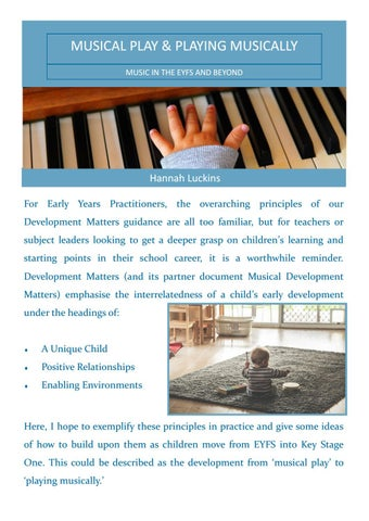 Page 8 of Musical Play & Playing Musically