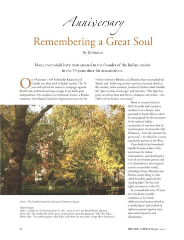 Page 30 of Anniversary: Remembering a Great Soul