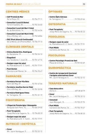 Page 39 of PREMIÀ DE DALT